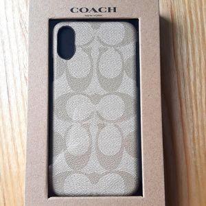 Coach I Phone Case for X/XS